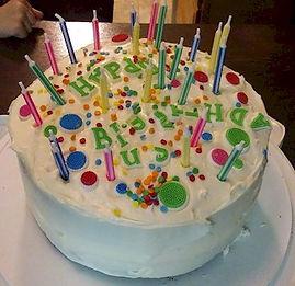Not Perfect Birthday Cake