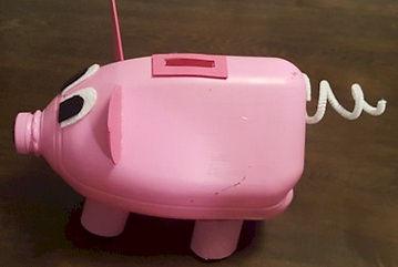 Milk Jug Piggy Bank 2