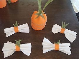 Carrot Napkins Rings
