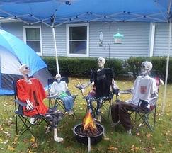 Skeleton Camping