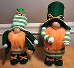 St Patricks Gnomes Stripes