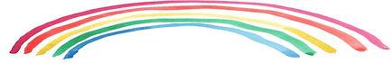 Painted Rainbow Clipart