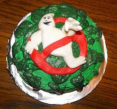 Ghostbuster Cake Fondant