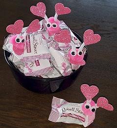 Pink Pom Pom Creature Candydish