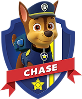 Paw Patrol Chase With Name png
