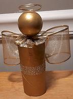 Toilet Paper Roll Angel Ornament