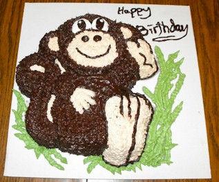 Monkey Cake Wilton
