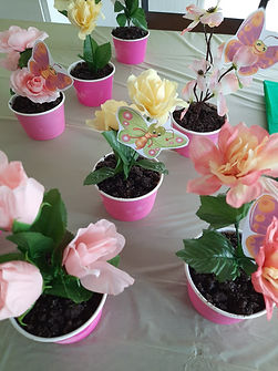 Potted Flowers Party Treats