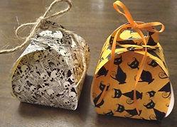 Halloween Curvy Keepsake Boxes Printed Paper