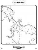 Petes Dragon Coloring Sheet 2