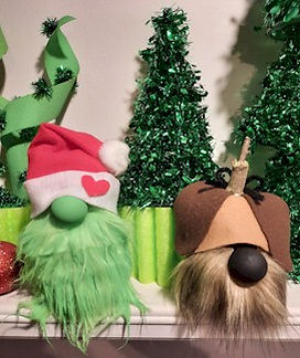 Grinch and Max Gnomes