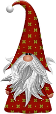 FREE Red Gnome Clipart png