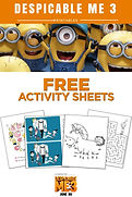 Despicable Me 3 Printable Activities
