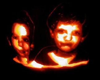 Kids Portrait Pumpkin