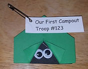 Tent SWAPS Girl Scouts