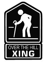over the hill crossing clipart jpg