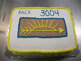 Boy Scout Pack Cake