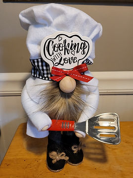 Standing Chef Gnome