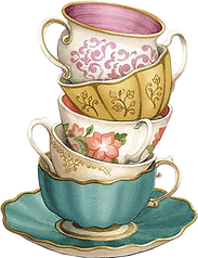 Shabby Chic Teacup Clipart