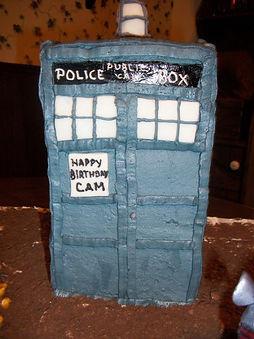 Tardis Cake Dr Who