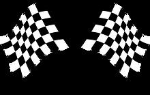 Checker Flag Clipart