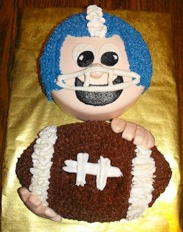 Football Player Cake
