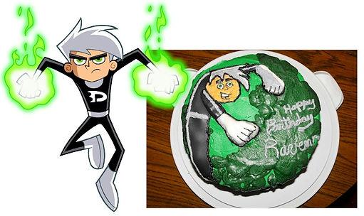 Danny Phantom Cake