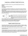 Leprechaun And Basket Handle Instructions