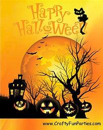 Happy Halloween Silhouettes Meme