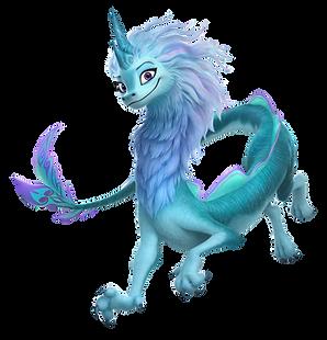 Sisu the Last Dragon Clipart png