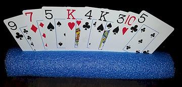 Pool Noodle Card Holder Tabletop
