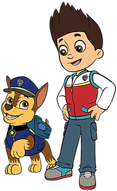 Chase and Ryder Clipart