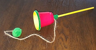 Balero Mexican Toy Craft