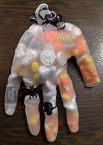Halloween Glove Treats