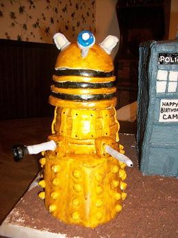 Dalek Cake Dr Who
