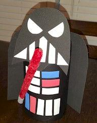 Star Wars Darth Vader Pop Bottle Craft