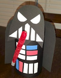 Darth Vader Valentines Holder