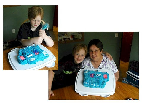 Wilton Elephant Cake Help