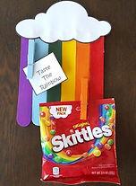 Rainbow Message Holder