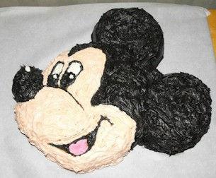 Mickey Mouse Cake Wilton