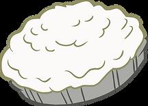 Cream Pie Clipart png