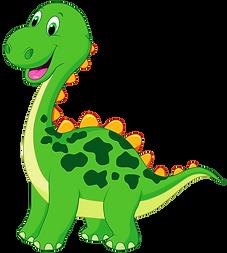 Cute Dinosaur Clipart 2 png