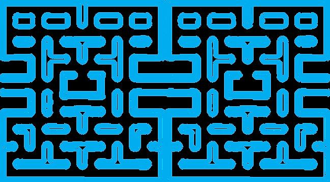 Pac Man Maze Clipart