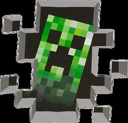 Minecraft Creeper Clipart png