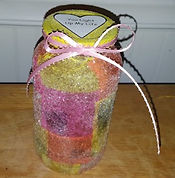 Heart Silhouette Jar