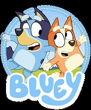 Bluey Logo png