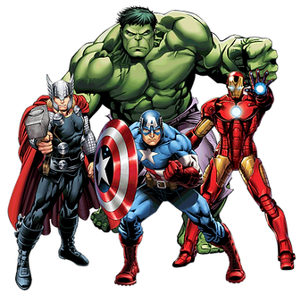 Marvel Superhero Clipart png