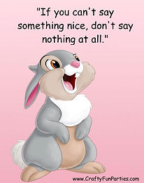 Dont Say Nothing Thumper Meme