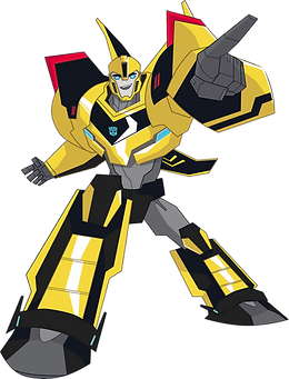 Transformers Bumblebee Clipart png