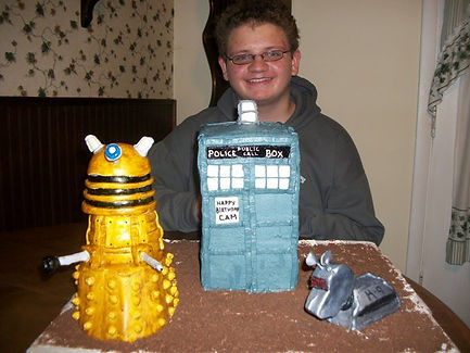 Dr Who Cakes Tardis K-9 Dalek